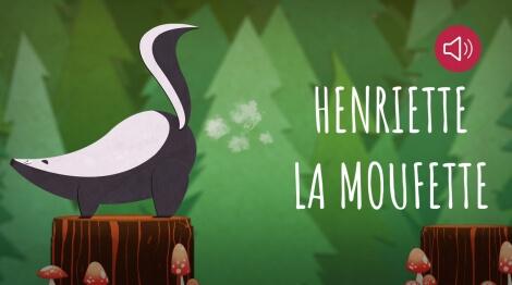Henriette la moufette