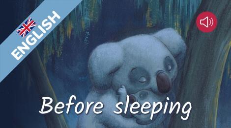 Before sleeping