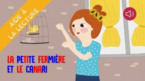La petite fermière et le canari