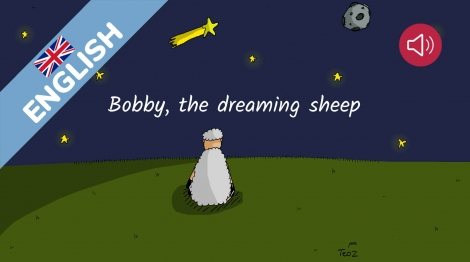 Bobby, the dreaming sheep