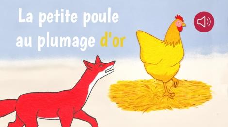 La petite poule au plumage d'or