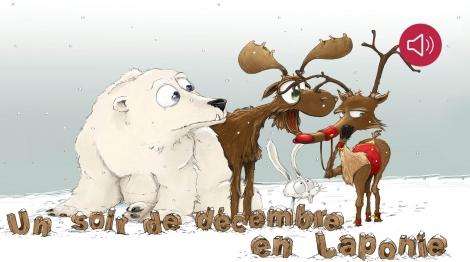 Un soir de décembre en Laponie