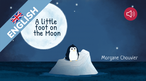 A little foot on the Moon