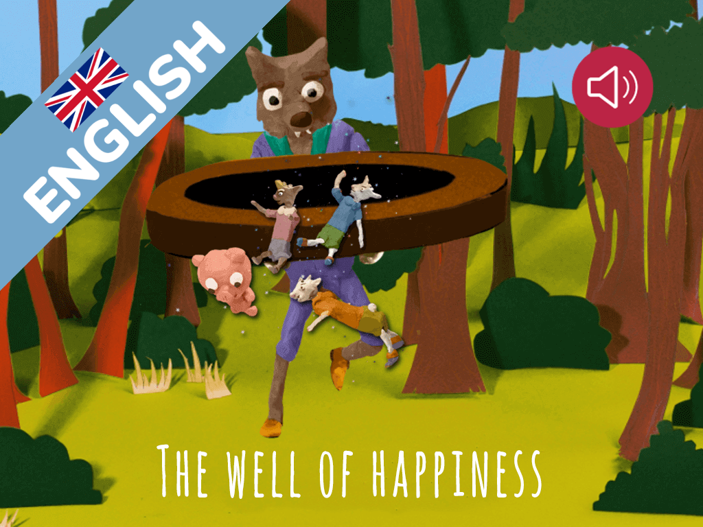 The well of happiness | Theblindbird