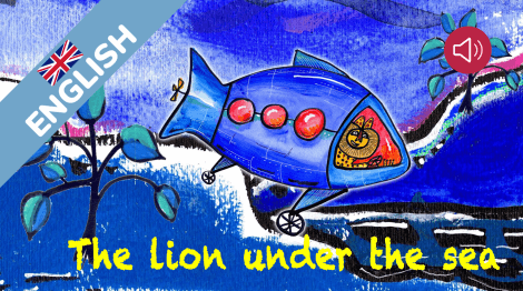 The lion under the sea