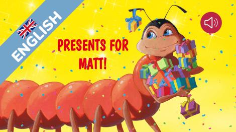 Presents for Matt!