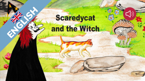 Scaredycat and the witch