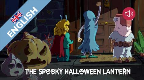 The spooky Halloween lantern