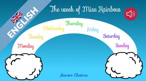 The week of Miss Rainbow