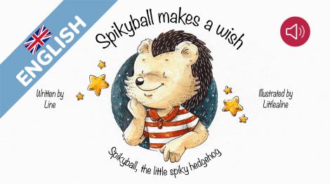 Spikyball makes a wish