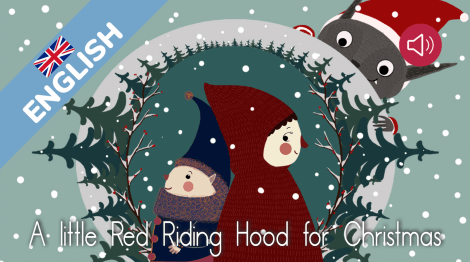 A Little Red Riding Hood for Christmas