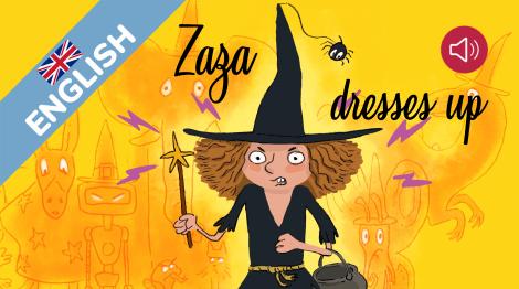 Zaza dresses up