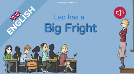 Leo has a big fright