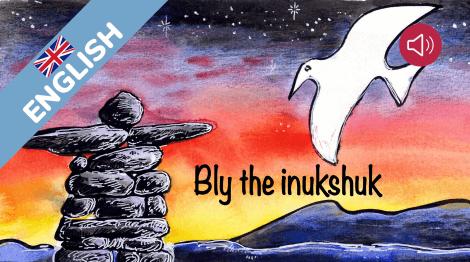 Bly the inukshuk