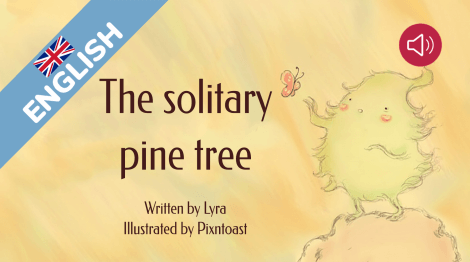 The solitary pine tree
