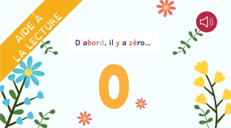 D'abord il y a zéro...