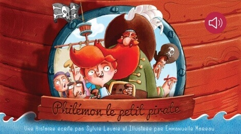 Philemon le petit Pirate