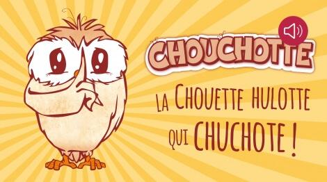 Chouchotte, la chouette hulotte qui chuchote !
