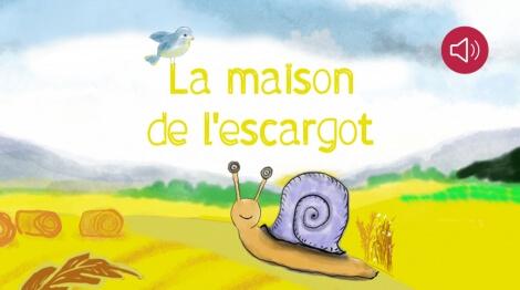 histoire pour enfants la maison de l escargot