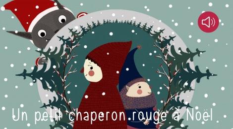 Un petit Chaperon rouge à Noël